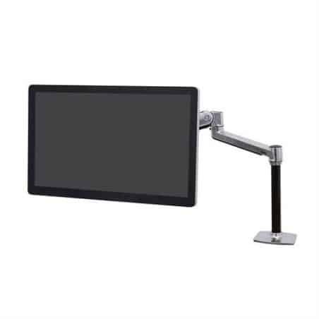 Bras LX assis-debout mono-écran HD, fixation bureau 45-384-026