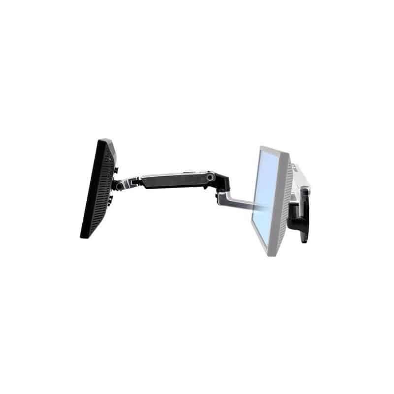 Bras LX mono-écran, fixation murale (aluminum) 45-243-026