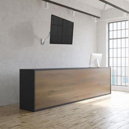 Bras HX mono-écran, fixation murale (blanc) 45-478-216