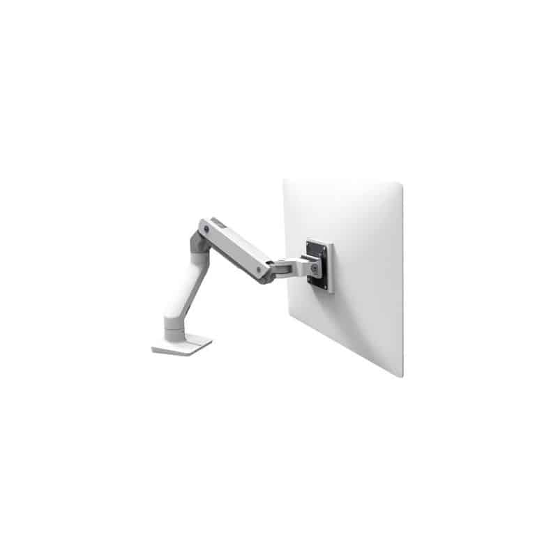 Bras HX mono-écran, fixation bureau (blanc) 45-475-216