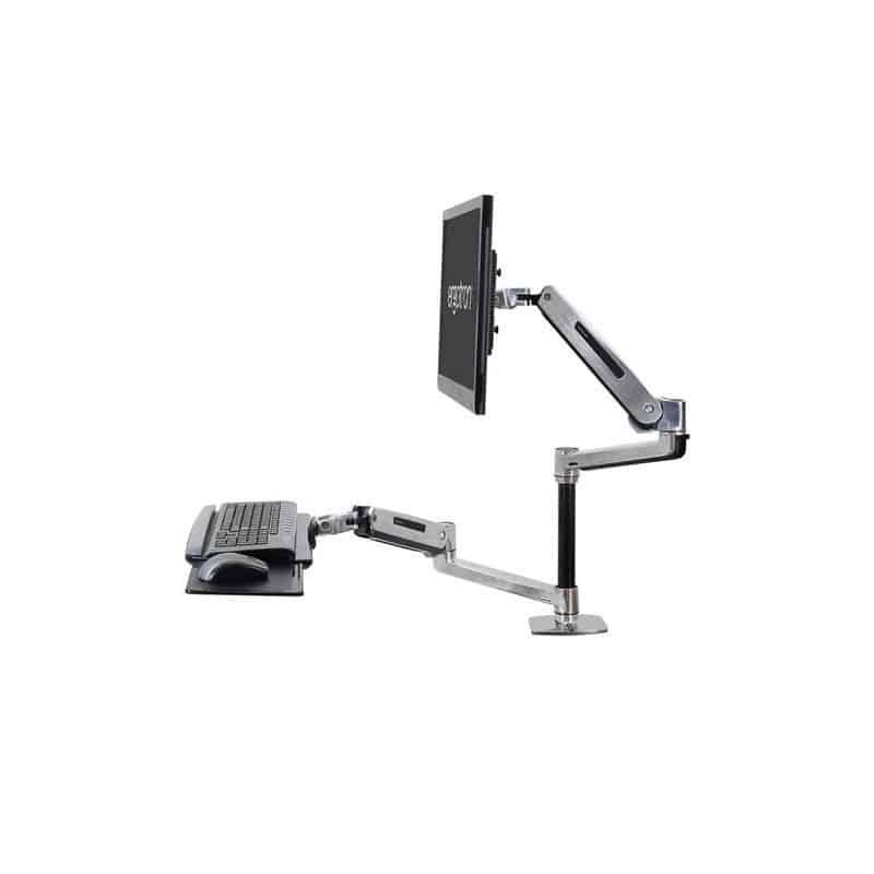 WorkFit-LX, Poste mono-écran assis-debout 45-405-026