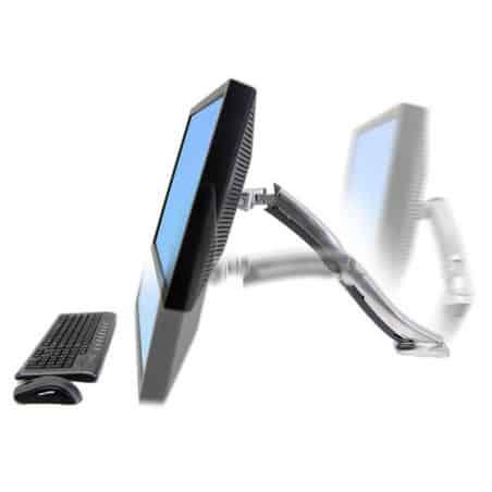 Bras MX mono-écran, fixation bureau 45-214-026