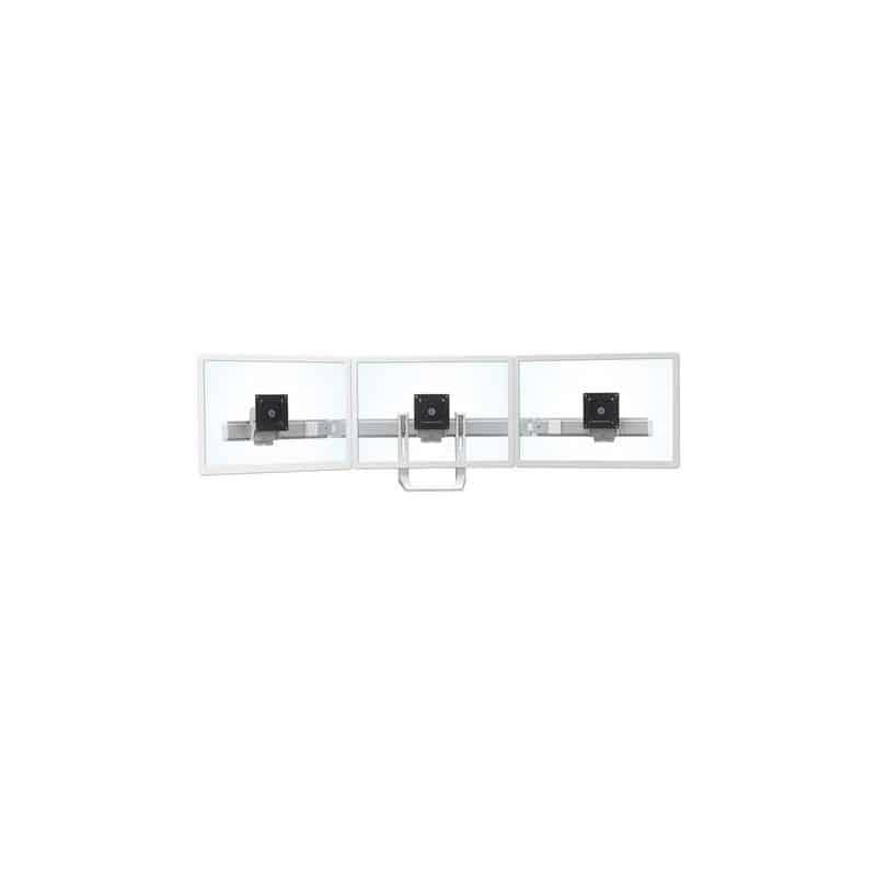Barre tri-écrans pour bras HX (blanc) 98-009-216