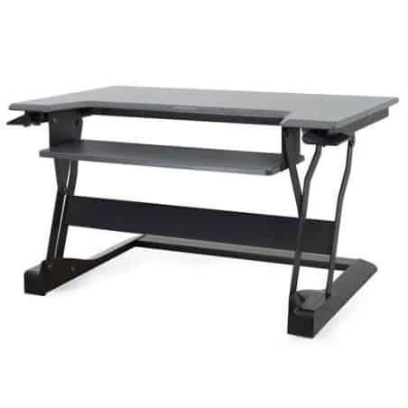 WorkFit-T, Poste assis-debout à poser (noir) 33-397-085
