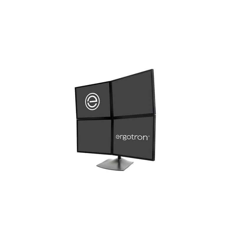 Stand DS100 quadri-écrans (noir) 33-324-200