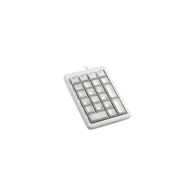 KEYPAD G84-4700 Pavé numérique mécanique bas profil 21 touches USB gris Layout français G84-4700LUCFR-0